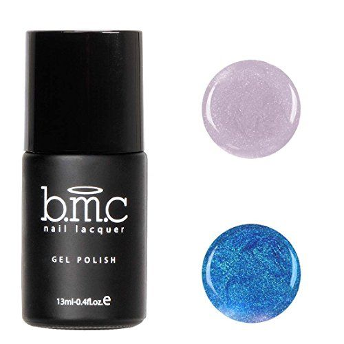 BMC Thermal Color Changing Iridescent Micro Glitter Nail Lacquer Gel Polish  Cancun Collection Sweet Azul ** Check this awesome product by going to the link at the image.Note:It is affiliate link to Amazon.