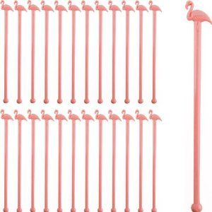 Pink Flamingo Cocktail Stirrers-Set of 24. For the bar!