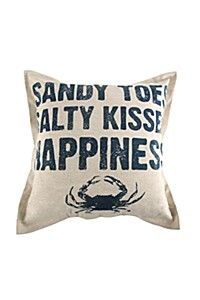PRINTED HAPPINESS 55X55CM SCATTER CUSHION