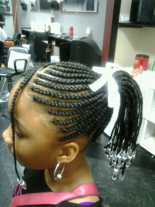 Magnificent 1000 Images About Hairstyles For Black Little Girls On Pinterest Short Hairstyles Gunalazisus