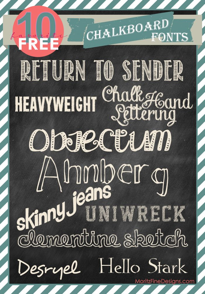 Free font friday fonts chalkboards and chalkboard fonts Chalkboard typography