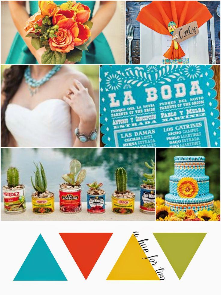 Cinco De Mayo Themed Wedding