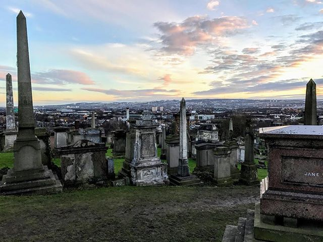 The first time I went to Glasgow's Necropolis was life changing. My school bought us a 1-day city sightseeing bus pass so I circled the city three times and visited the top of the Necropolis twice. I timed it perfectly so I could be there for sunset and also to take the last possible bus home (walking distance from the Necropolis to my flat (which I did many times over the semester) was about 45 minutes). The view from the top allows you to look over the entire city from all directions. I…