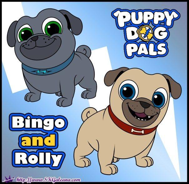Puppy Dog Pals Coming To Disney Junior Disney Junior Dogs And Puppies Disney Junior Printables