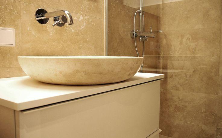 die besten 25 naturstein waschbecken ideen auf pinterest badezimmer naturstein waschbecken. Black Bedroom Furniture Sets. Home Design Ideas