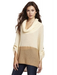 This fashionable sweater from Splendid goes well with anything from jeans to dresses.