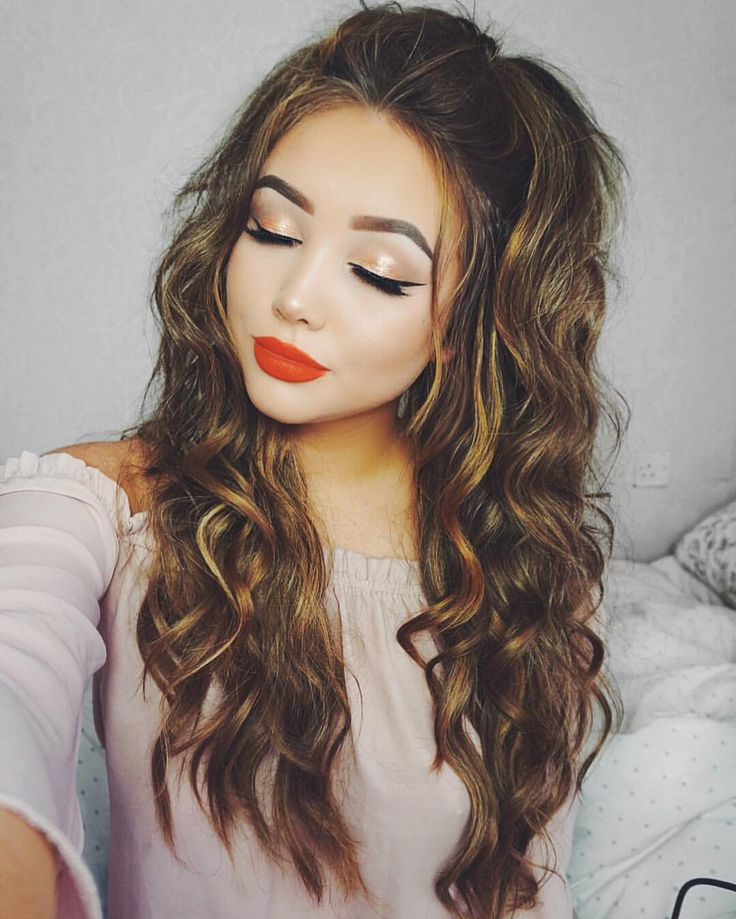 "Gefällt 5,377 Mal, 57 Kommentare - G i n a B o x ♡ (@ohmygeeee) auf Instagram: ""Big hair, don't care Added my @foxylocks seamless clip ins, I Use the colour Chestnut  be sure…"""