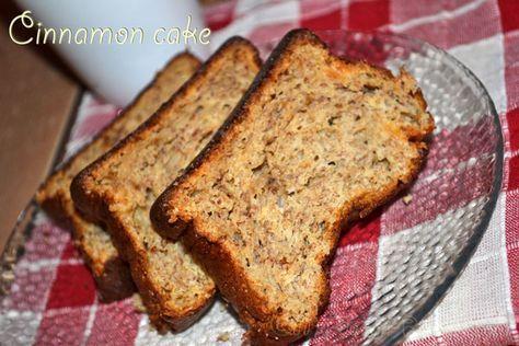Cinnamon cake | DUKAN DIET RECIPES