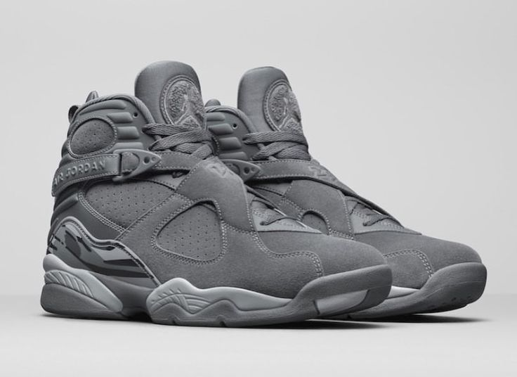 Air Jordan 8 Cool Grey Release Date - Sneaker Bar Detroit