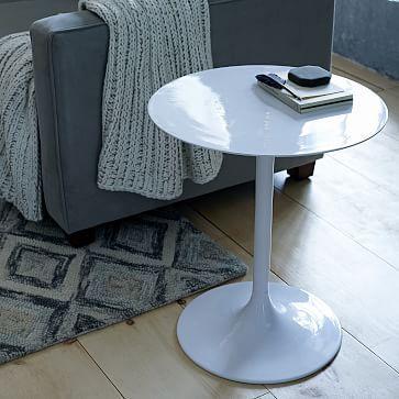 Modernist Pedestal Side Table #westelm