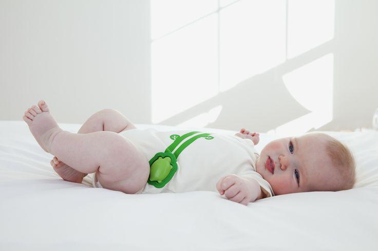 Un body qui surveille la respiration du bébé et permet d'avertir les parents en cas de comportement anormal. Un objet qui permettrait de diminuer l'angoisse des parents qui appréhendent la mort subite du nourrisson.