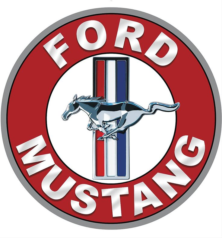 ford mustang tri bar round steel sign free shipping on orders over 99 at genuine hotrod hardware pauls neat pictures pinterest hardware - Ford Mustang Logo Images