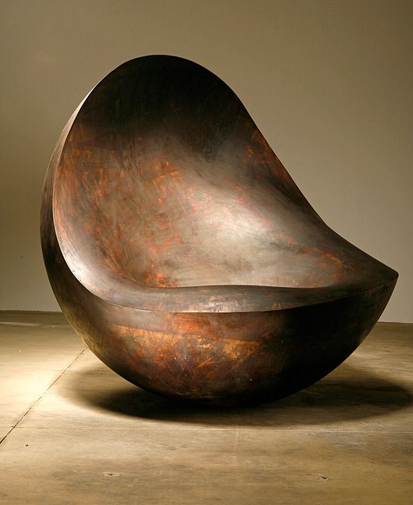 The Southern Hemisphere Designed By Ron Arad Is Made Out Of Patinated  Alunimium. The Design