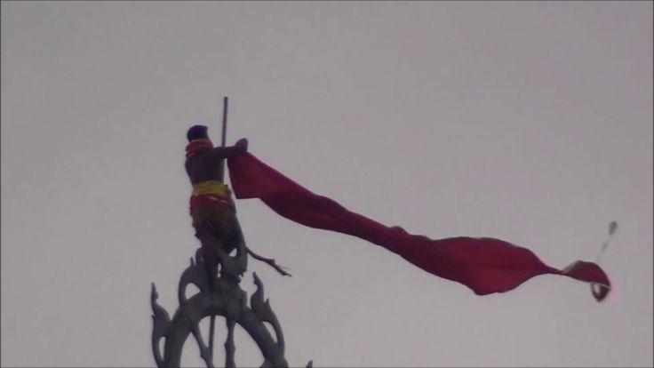 Flag Changing ritual of Shree Jagannath temple Puri
