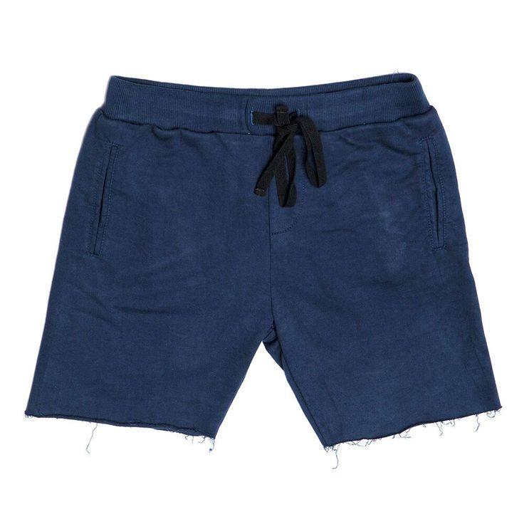 Zuttion Plain Track Shorts Navy - Global Kidz