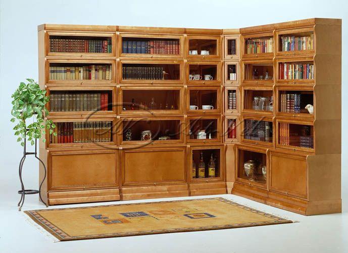 Домашние библиотеки/мебель для библиотеки на заказ/книжные шкафы класса ЛЮКС/библиотека для дома на заказ