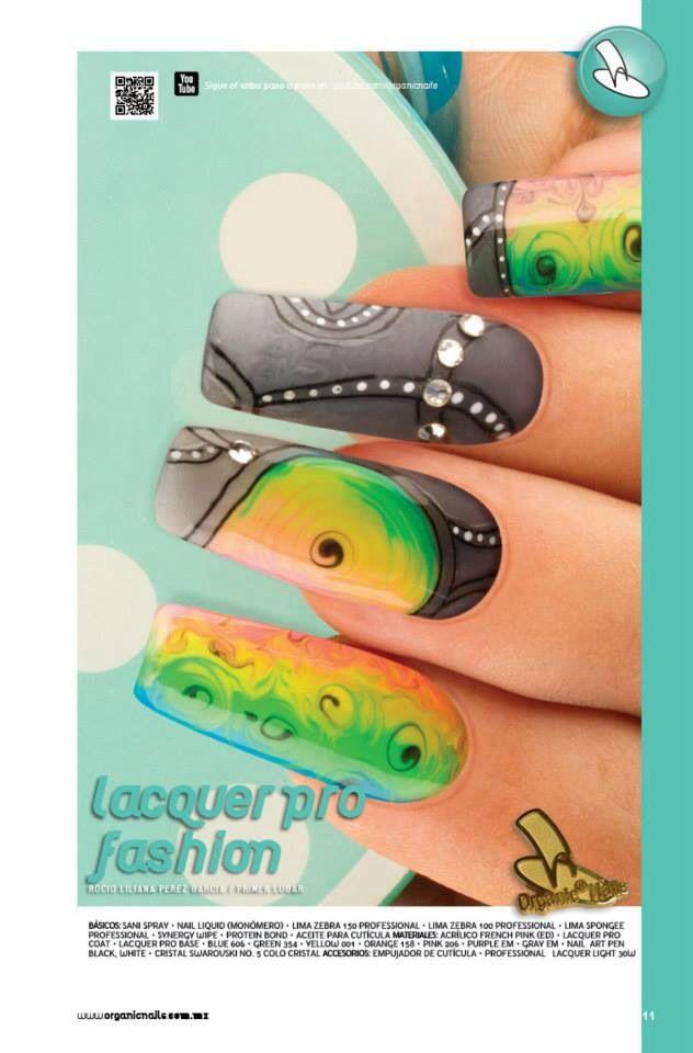 Atractivo Oro Uñas De Diseño Friso - Ideas de Pintar de Uñas ...