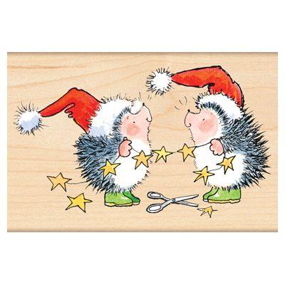 Hedgehog Christmas Penny Black, Inc.