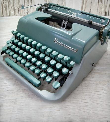 Vintage Underwood Universal Typewriter by Anodyne & Ink on Scoutmob Shoppe