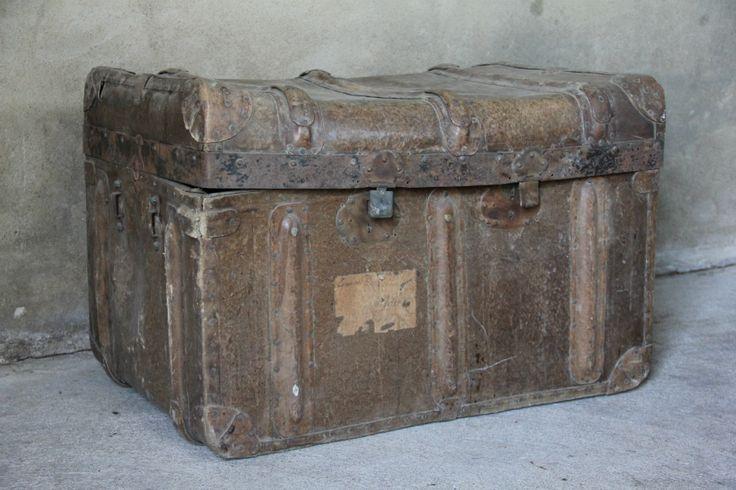 Vintage Hutkoffer - Inndoors Meubelen en Interieur