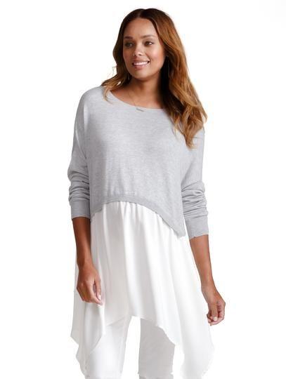 f633e0ac239 Drapey Swing Sweater