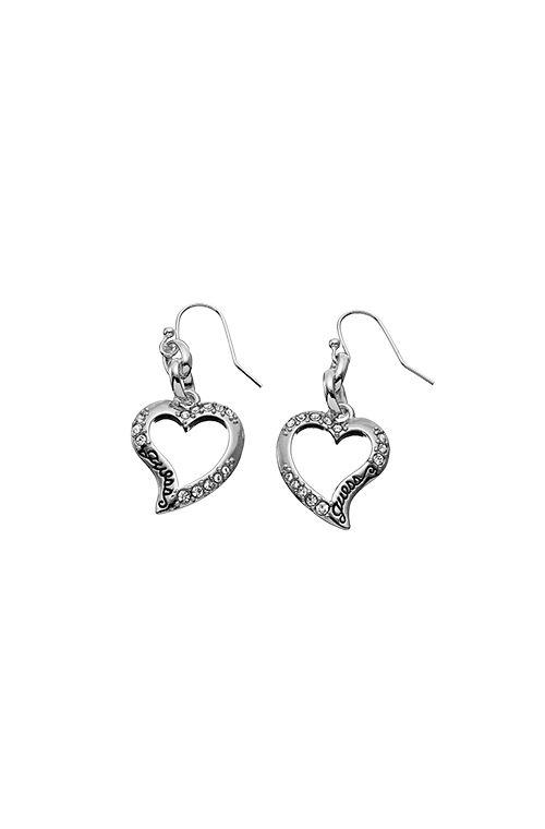 Guess Small Open Heart Earring, silver 51,00 € www.fashionstore.fi