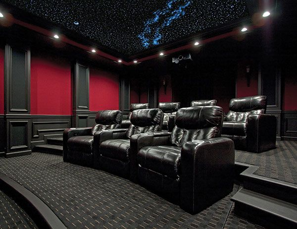 147 best Home Movie Theater Design Ideas images on Pinterest | Diy ...