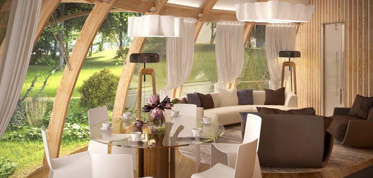 A brilliant idea for the garden house or the mountain challet!  #Empiro  #EmpiroCZ  #housedecor  #modernarchitecture
