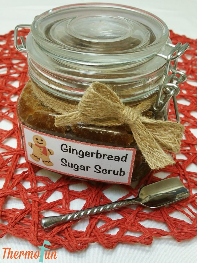 If you are looking for an amazing festive season gift than this thermomix gingerbread sugar scrub is the perfect gift! It's so full of festive scent but at