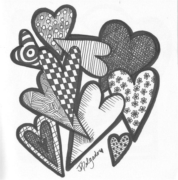Zentangle...sharpie drawing