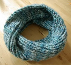 Loop-Schal stricken die Dritte