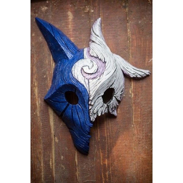 inspired kindred wolf lamb mixed mask league of legends lol cosplay liked on polyvore wolf halloween costumewolf costumerole - Halloween Costumes Wolf