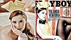 La ficha amarilla de Parchís, nueva conejita 'Playboy'