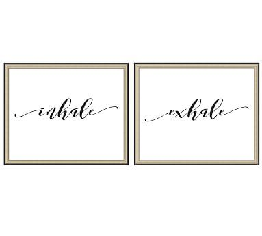 Inhale Exhale Print #potterybarn
