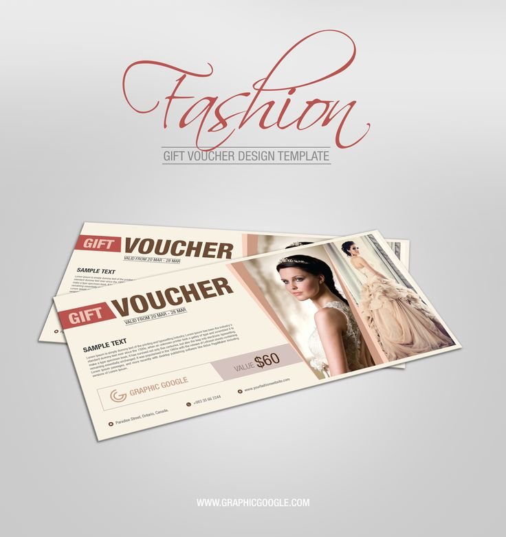 We're glad to offer you something unusual today! Free Fashion Gift Voucher Design Template to showcase your presentation. Sometime brands gives the special discount or gift voucher to their customers so that customer feel happy while shopping. This template allow you to easily add your design and lets you change the background to fit your needs. Let's feel free to download and enjoy it!