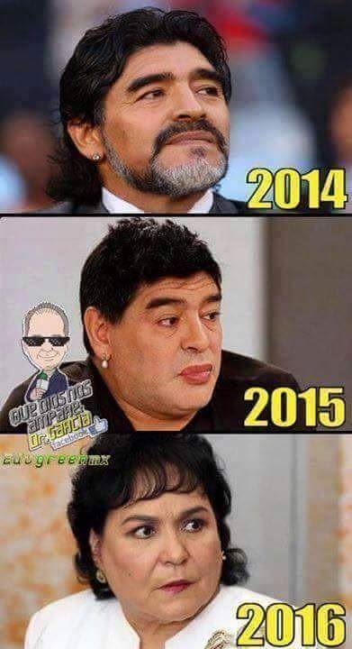 Były gwiazdor reprezentacji Argentyny w przyszłości będzie kobietą • Diego Maradona i jego niezwykła przemiana • Wejdź i zobacz >> #maradona #football #soccer #sports #pilkanozna #funny