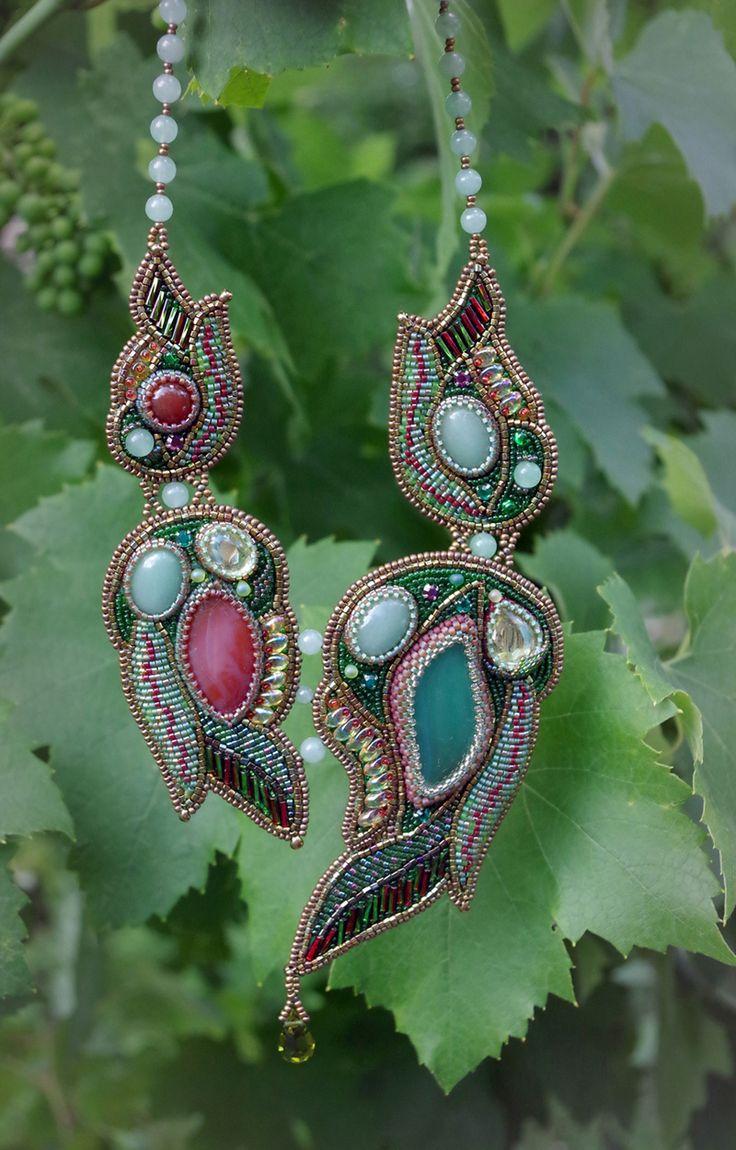 "Колье ""Мавка"" - украшения из бисера - beaded jewelry"