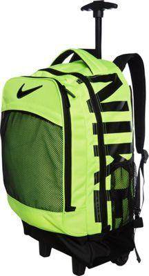 Nike Microfiber Core Rolling Backpack Volt - via eBags.com!
