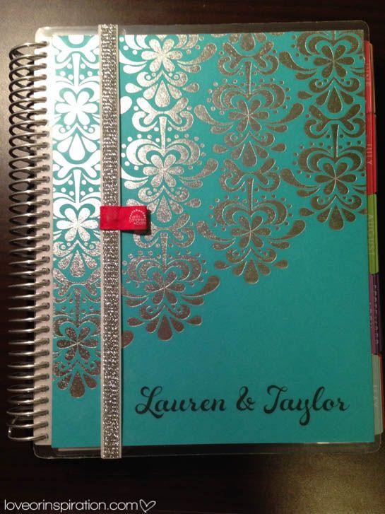 Erin Condren Wedding Planner Review | See post @ loveorinspiration.com #LIblog #ECweddingplanner #weddingplanner