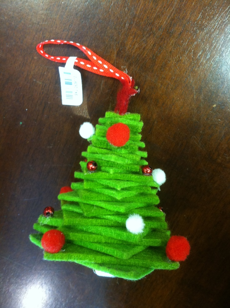 Christmas Tree Felt Decorations