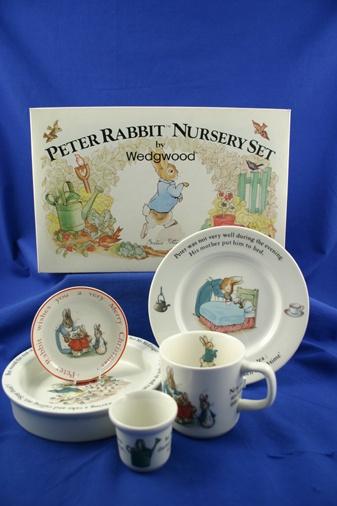 Peter Rabbit china (Wedgewood)