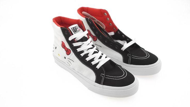 Vans Men Sk8-Hi Slim Hello Kitty (white / plush / true white) VN0XH7DKU in Clothing, Shoes & Accessories | eBay