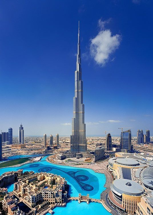 Burj Khalifa: The world's tallest building is a sight to behold.