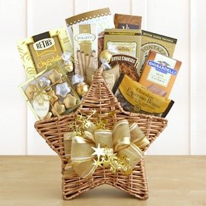 Shining Star Basket for Dad $40