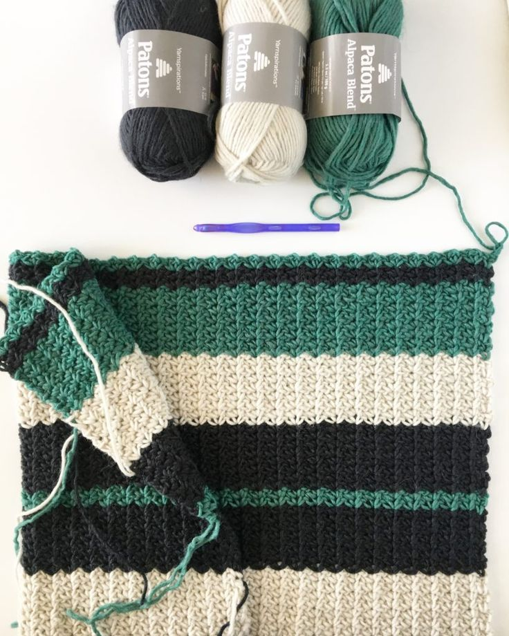 I have a rule of three when I am thinking of designing a new blanket. I need the stitch, the…