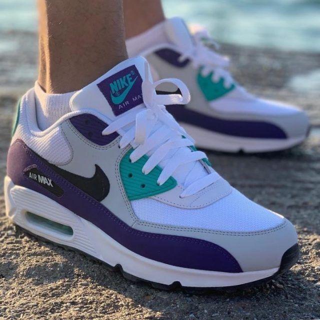 Nike Airmax 90 x Grape ???? | Nike air max, Nike, Nike air