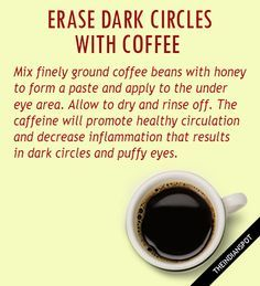 Coffee contains anti-inflammatory and antioxidant properties that can keep your skin bright and soft. Also,...