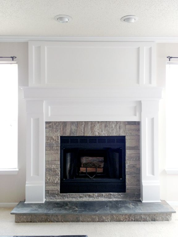 Hello All! Thank you for visiting my blog. Today I'm going to talk about the process of how I redesigned and built the new fireplace in the home we recently moved into. If you havn't checked out th...