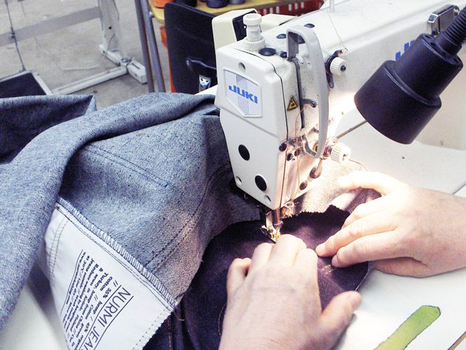 Nurmi Jeans // Sewing