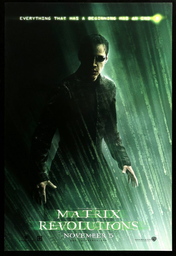 The Matrix Revolutions | Science fiction movie posters ...